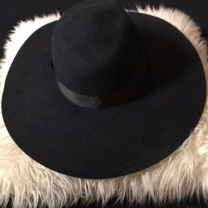 ca4f5492a6a345 Mu Du London Accessories - Black grande fedora - Mu Du London